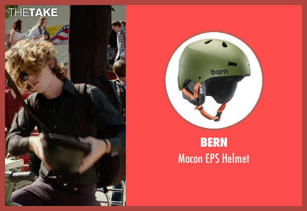 Bern helmet from The DUFF seen with Nick Eversman (Toby)