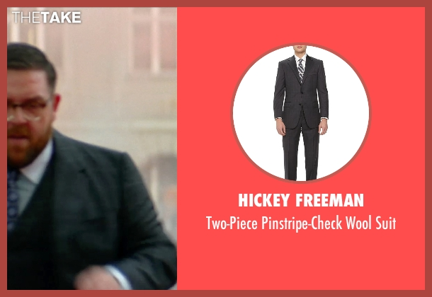 Hickey Freeman black suit from Unfinished Business seen with Nick Frost  (Bill Whilmsley)