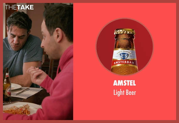 Amstel beer from Adult Beginners seen with Nick Kroll (Jake)