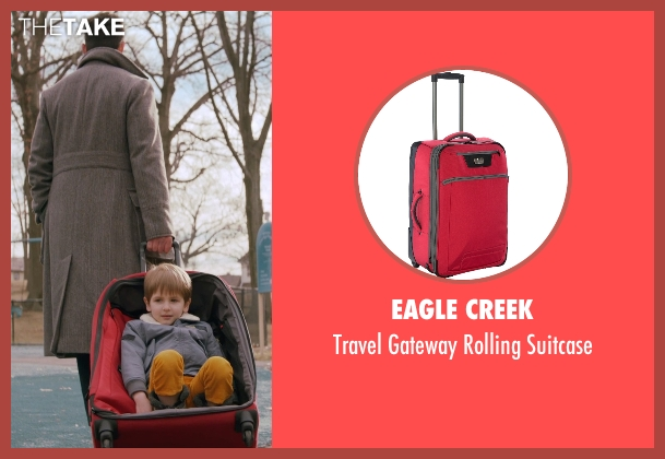 Eagle Creek suitcase from Adult Beginners seen with Nick Kroll (Jake)