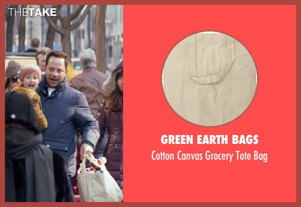Green Earth Bags white bag from Adult Beginners seen with Nick Kroll (Jake)