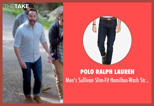Polo Ralph Lauren blue jeans from Joshy seen with Nick Kroll (Eric)
