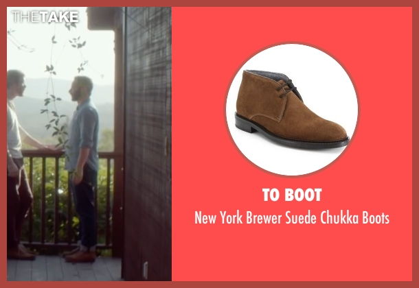 To Boot brown boots from Joshy seen with Nick Kroll (Eric)