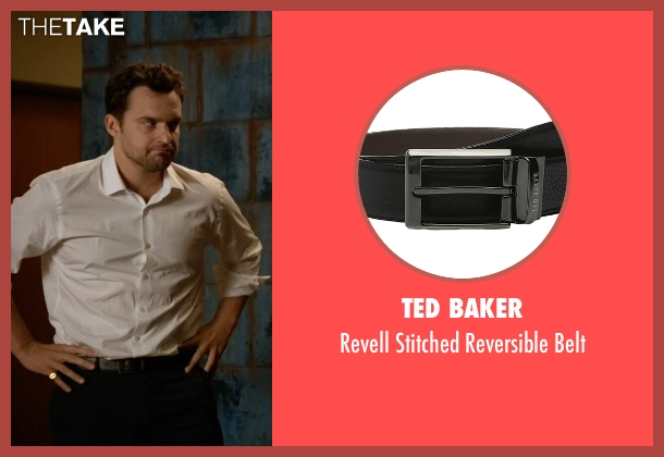 Ted Baker black belt from New Girl seen with Nick Miller (Jake Johnson)