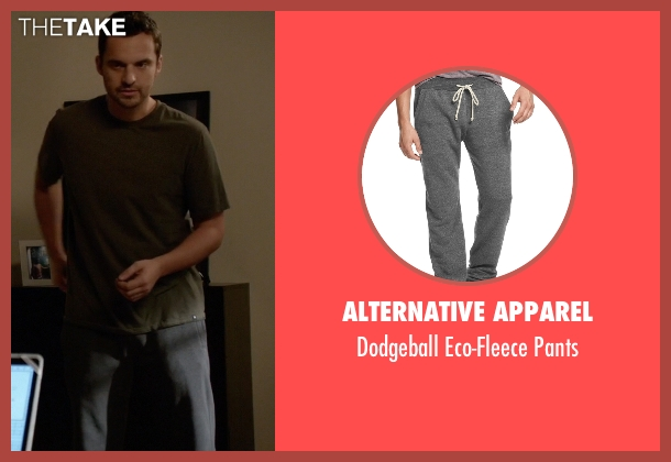 Alternative Apparel black pants from New Girl seen with Nick Miller (Jake Johnson)