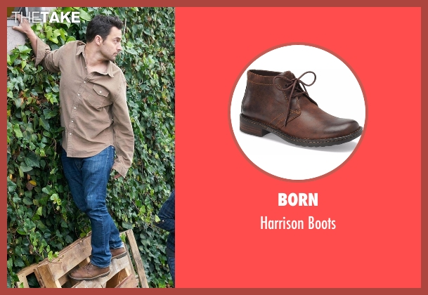 Born brown boots from New Girl seen with Nick Miller (Jake Johnson)