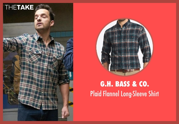 G.H. Bass & Co. shirt from New Girl seen with Nick Miller (Jake Johnson)