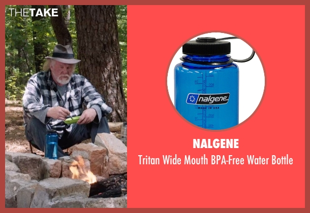 Nalgene bottle from A Walk in the Woods seen with Nick Nolte (Katz)