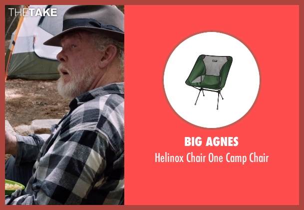 Big Agnes chair from A Walk in the Woods seen with Nick Nolte (Katz)