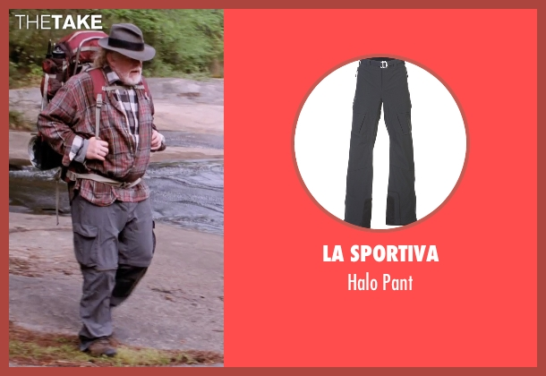 La Sportiva gray pant from A Walk in the Woods seen with Nick Nolte (Katz)