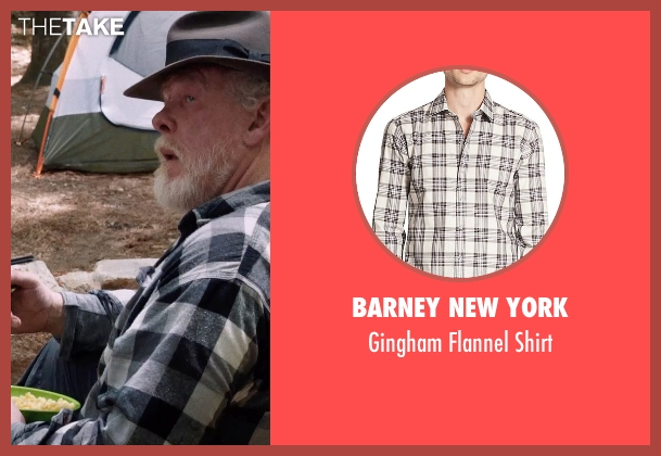 Barney New York gray shirt from A Walk in the Woods seen with Nick Nolte (Katz)