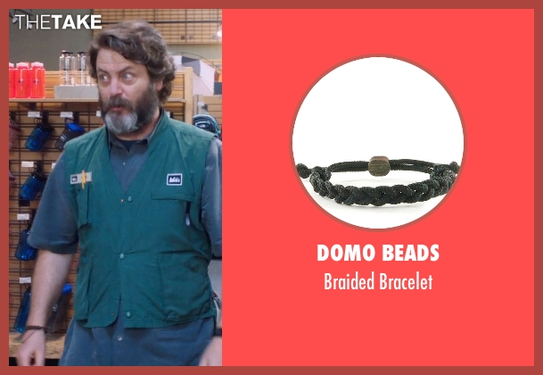 Domo Beads black bracelet from A Walk in the Woods seen with Nick Offerman (Unknown Character)