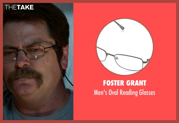 Foster Grant black glasses from We're the Millers seen with Nick Offerman (Don Fitzgerald)
