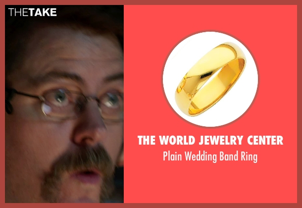 The World Jewelry Center gold ring from We're the Millers seen with Nick Offerman (Don Fitzgerald)