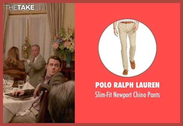 Polo Ralph Lauren beige pants from Ricki and the Flash seen with Nick Westrate (Adam Brummel)