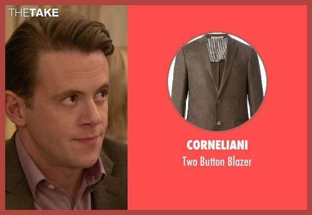 Corneliani brown blazer from Ricki and the Flash seen with Nick Westrate (Adam Brummel)