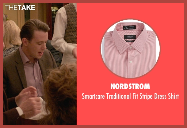Nordstrom pink shirt from Ricki and the Flash seen with Nick Westrate (Adam Brummel)