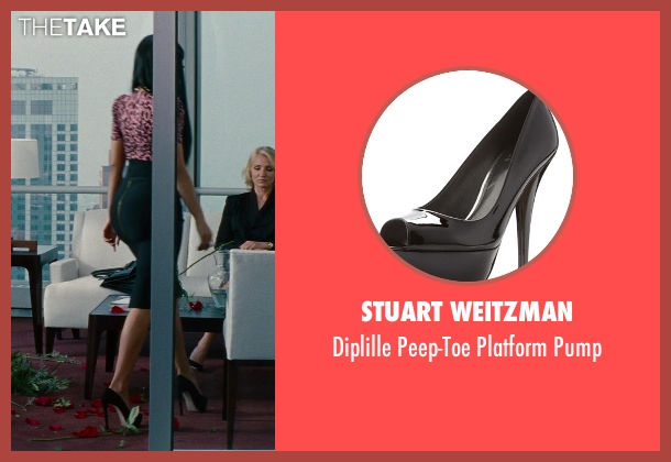 Stuart Weitzman black pump from The Other Woman seen with Nicki Minaj (Lydia)