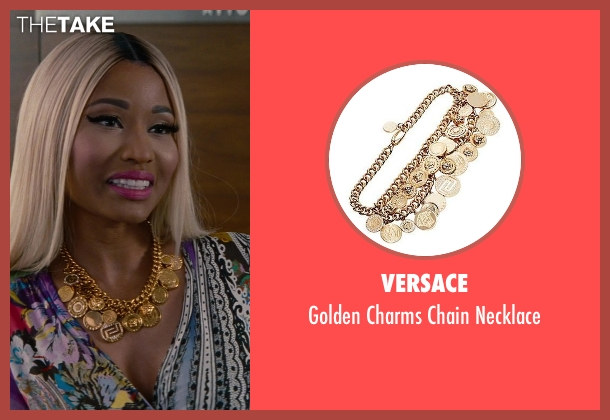 Versace gold necklace from The Other Woman seen with Nicki Minaj (Lydia)