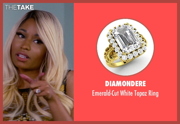 Diamondere gold ring from The Other Woman seen with Nicki Minaj (Lydia)