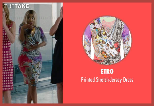 Etro pink dress from The Other Woman seen with Nicki Minaj (Lydia)