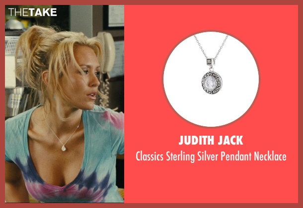Judith Jack silver necklace from Hall Pass seen with Nicky Whelan (Leigh)