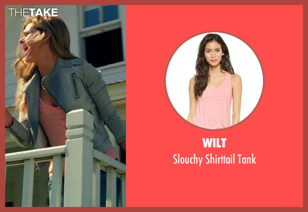 Wilt pink tank from Transformers: Age of Extinction seen with Nicola Peltz (Tessa Yeager)