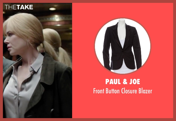 Paul & Joe black blazer from Secret in Their Eyes seen with Nicole Kidman (Claire)