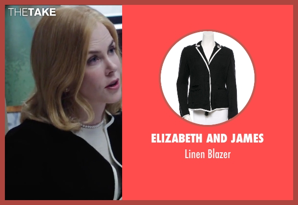Elizabeth and James black blazer from Secret in Their Eyes seen with Nicole Kidman (Claire)