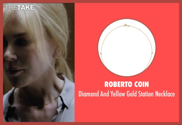 Roberto Coin gold necklace from Secret in Their Eyes seen with Nicole Kidman (Claire)