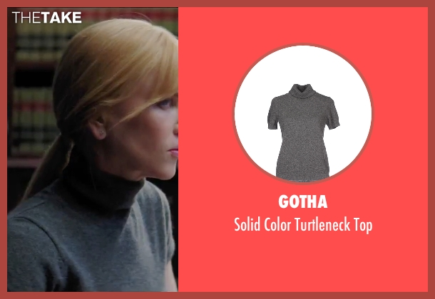 Gotha gray top from Secret in Their Eyes seen with Nicole Kidman (Claire)