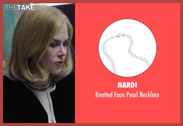 Nardi white necklace from Secret in Their Eyes seen with Nicole Kidman (Claire)