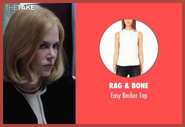 Rag & Bone white top from Secret in Their Eyes seen with Nicole Kidman (Claire)