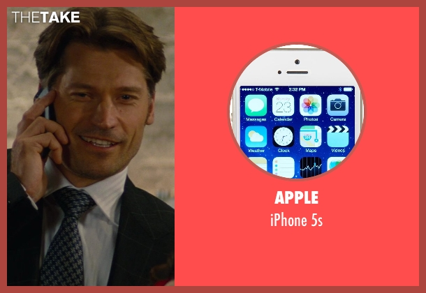 Apple 5s from The Other Woman seen with Nikolaj Coster-Waldau (Mark King)