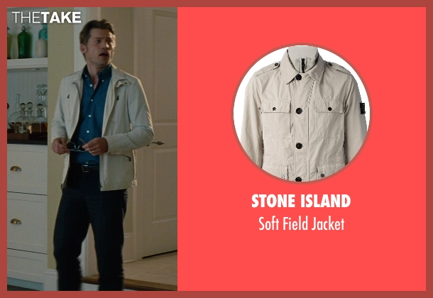 Stone Island beige jacket from The Other Woman seen with Nikolaj Coster-Waldau (Mark King)