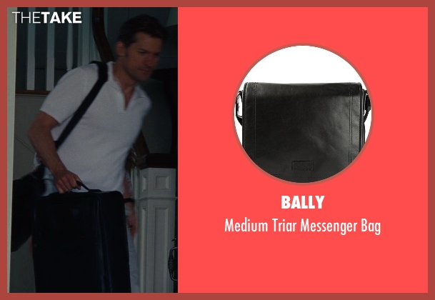 Bally black bag from The Other Woman seen with Nikolaj Coster-Waldau (Mark King)