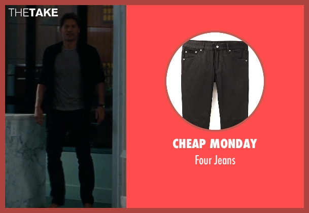 Cheap Monday black jeans from The Other Woman seen with Nikolaj Coster-Waldau (Mark King)