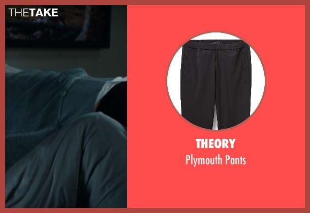 Theory black pants from The Other Woman seen with Nikolaj Coster-Waldau (Mark King)