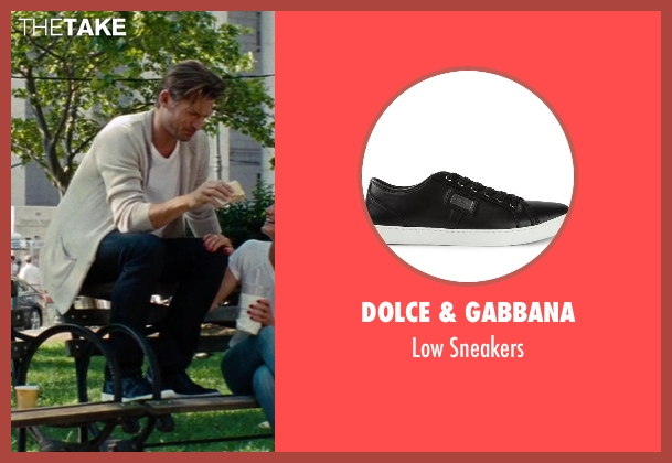 Dolce & Gabbana black sneakers from The Other Woman seen with Nikolaj Coster-Waldau (Mark King)