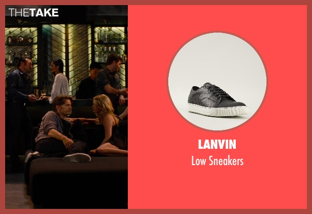 Lanvin black sneakers from The Other Woman seen with Nikolaj Coster-Waldau (Mark King)