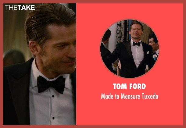 Tom Ford black tuxedo from The Other Woman seen with Nikolaj Coster-Waldau (Mark King)