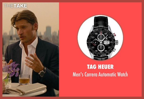 Tag Heuer black watch from The Other Woman seen with Nikolaj Coster-Waldau (Mark King)