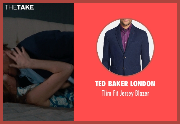 Ted Baker London blue blazer from The Other Woman seen with Nikolaj Coster-Waldau (Mark King)