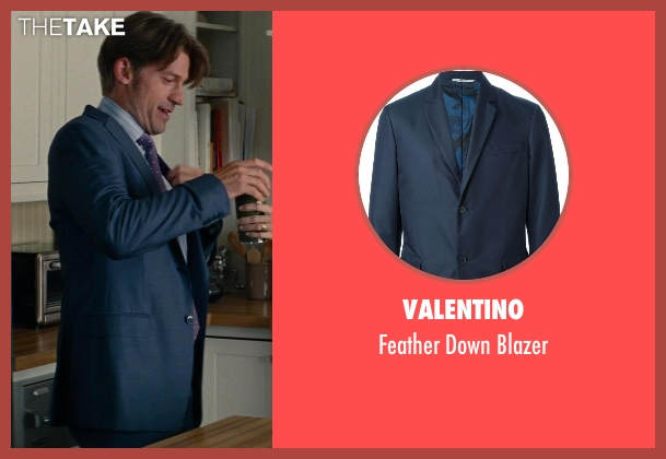 Valentino blue blazer from The Other Woman seen with Nikolaj Coster-Waldau (Mark King)