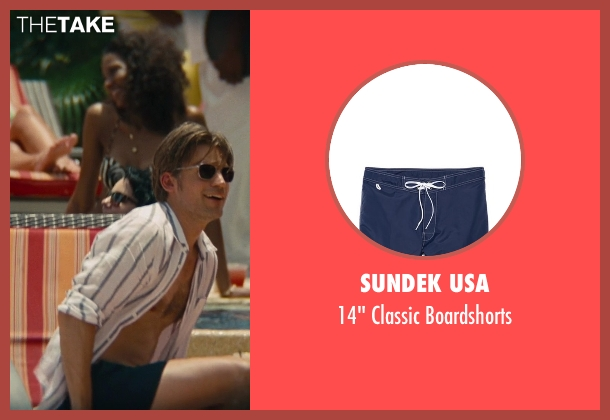 Sundek USA blue boardshorts from The Other Woman seen with Nikolaj Coster-Waldau (Mark King)