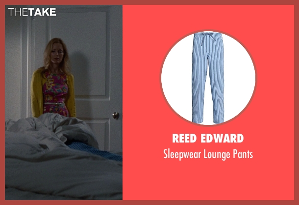 Reed Edward blue pants from The Other Woman seen with Nikolaj Coster-Waldau (Mark King)