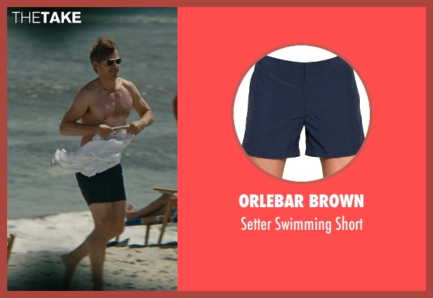 Orlebar Brown blue short from The Other Woman seen with Nikolaj Coster-Waldau (Mark King)