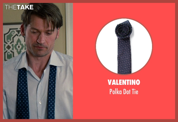 Valentino blue tie from The Other Woman seen with Nikolaj Coster-Waldau (Mark King)