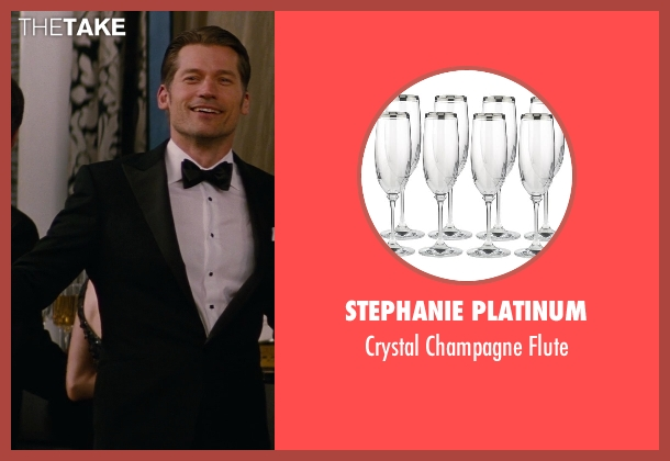 Stephanie Platinum flute from The Other Woman seen with Nikolaj Coster-Waldau (Mark King)