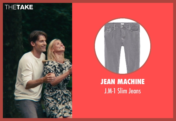 Jean Machine gray jeans from The Other Woman seen with Nikolaj Coster-Waldau (Mark King)